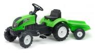Falk Traktor Garden Master Vert, pedaalidega