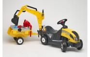 Falk Traktor+kopp+käru ja tööriistad