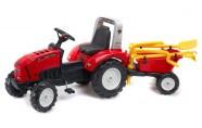 Falk Traktor käru ja tööriistadega, pedaalidega