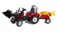 Falk Traktor+laadur+käru+tööriistad, pedaalidega