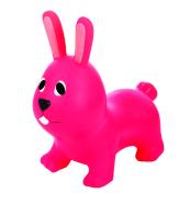 Gerardo's Toys Hüppeloom Jumpy Jänes, tumeroosa
