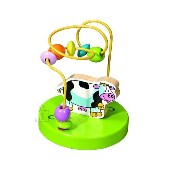 Gerardo's Toys väike motoorikakeskus lehmaga