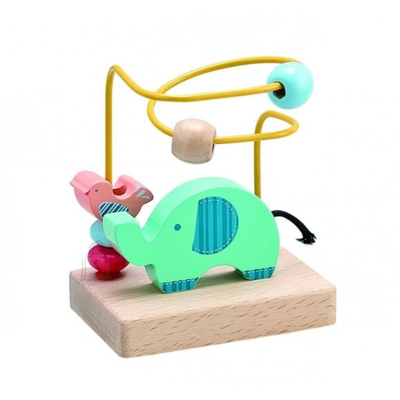 Gerardo's Toys väike motoorikakeskus elevandiga