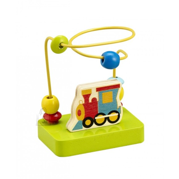 Gerardo's Toys väike motoorikakeskus rongiga