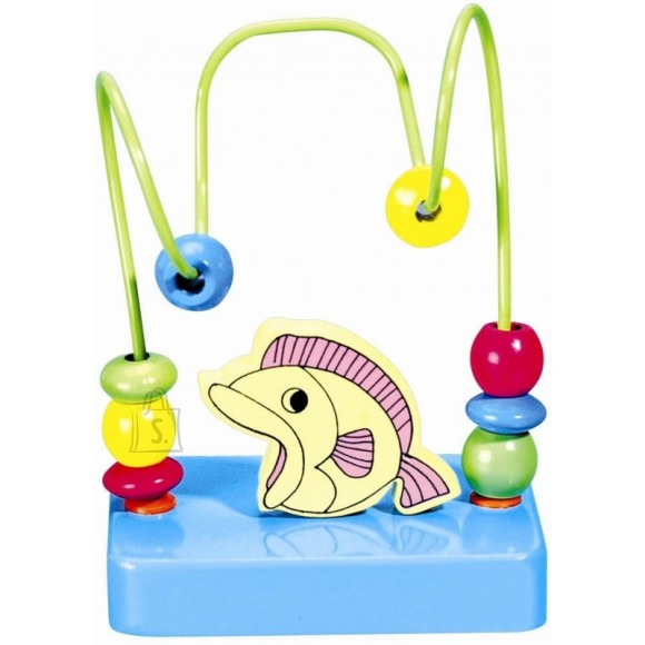 Gerardo's Toys väike motoorikakeskus kalaga
