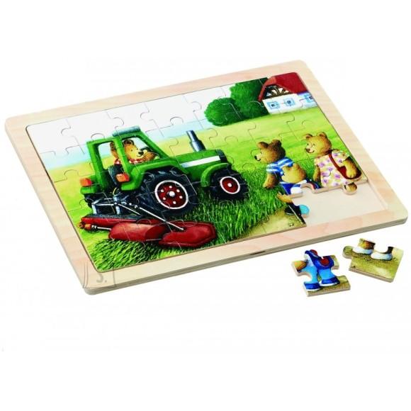 Gerardo's Toys pusle mõmmid ja traktor
