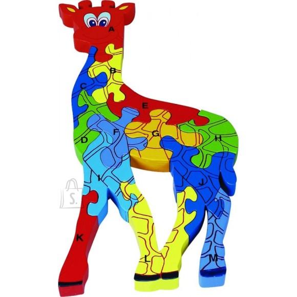 Gerardo's Toys puidust pusle kaelkirjak 13 tk