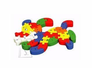 Gerardo's Toys puidust pusle koerake 26 tk