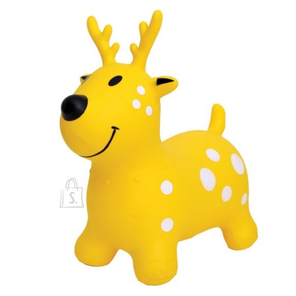 Gerardo's Toys Jumpy hüppeloom kollane põder