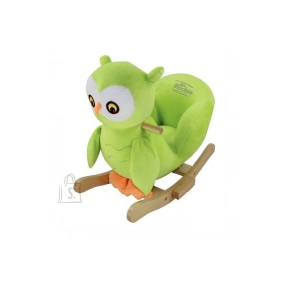 Gerardo's Toys roheline kiikloom Öökull
