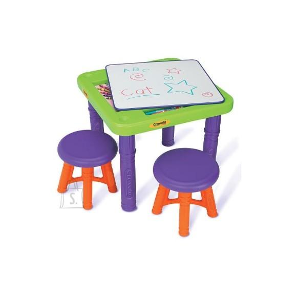 Crayola mängulaud ja toolid