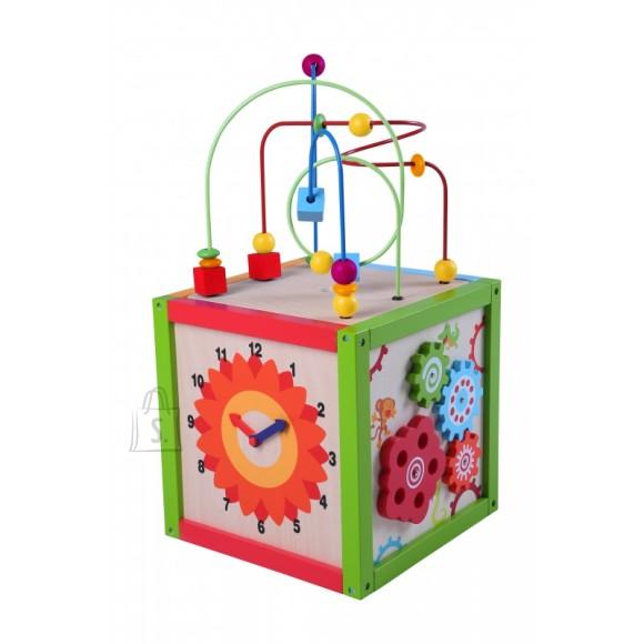 Gerardo's Toys motoorikakuubik kellaga