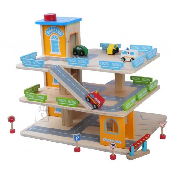 Gerardo's Toys puidust parkimismaja