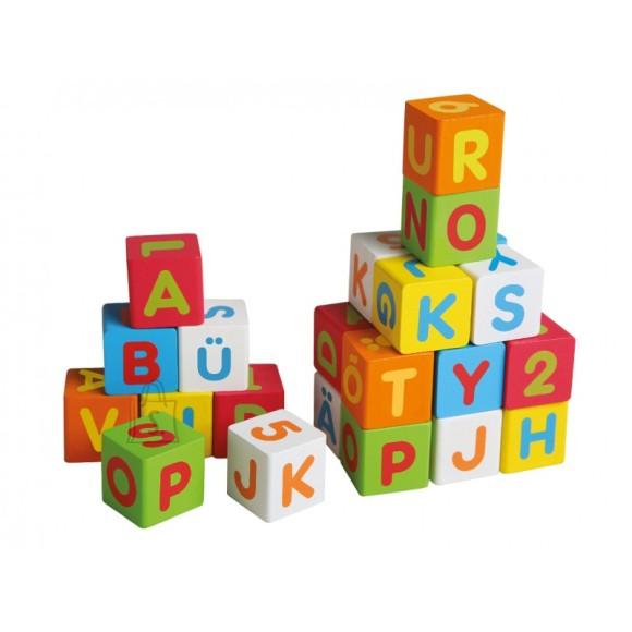 Gerardo's Toys puidust eestikeelsed täheklotsid