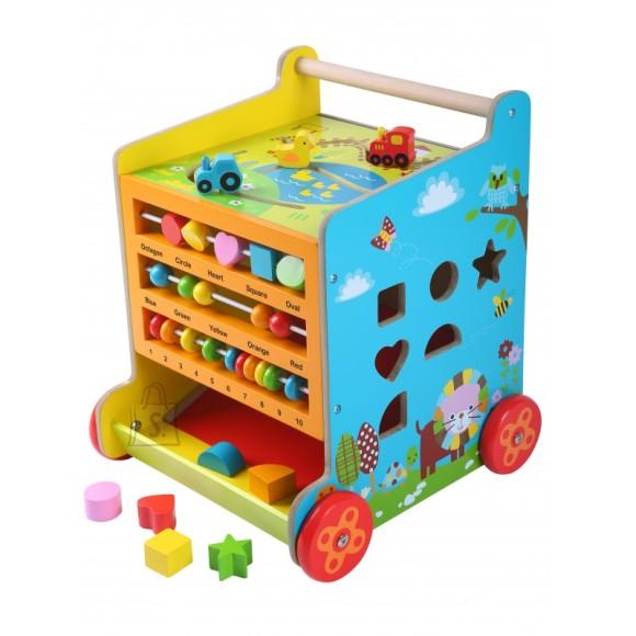 Gerardo's Toys puidust tegevuskeskus-käimistugi
