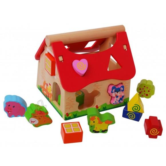 Gerardo's Toys puidust farmimaja