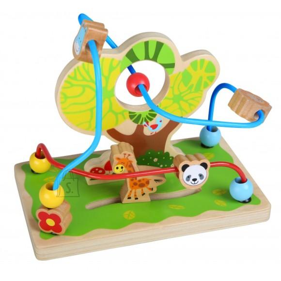 Gerardo's Toys motoorikakeskus puu ja loomadega