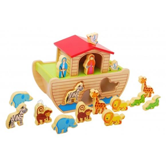 Gerardo's Toys puidust Noa laev