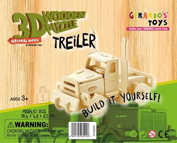 Gerardo's Toys 3D pusle Rekka 38tk