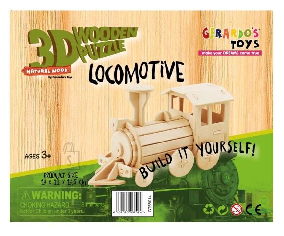 Gerardo's Toys puidust 3D pusle Vedur