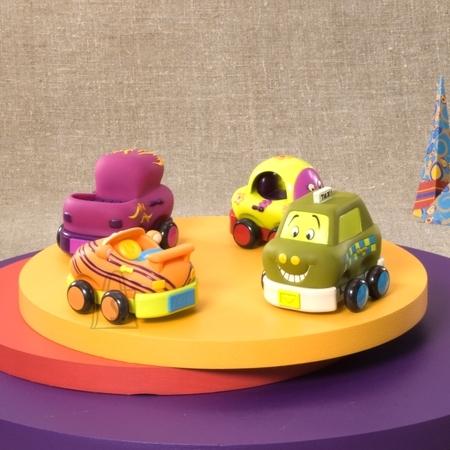 B Toys Pehmed autod Whee