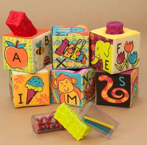 B Toys Pehmed kuubikud