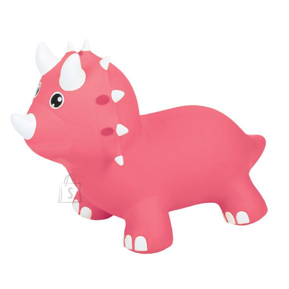 Gerardo's Toys Jumpy hüppeloom Triceratops roosa