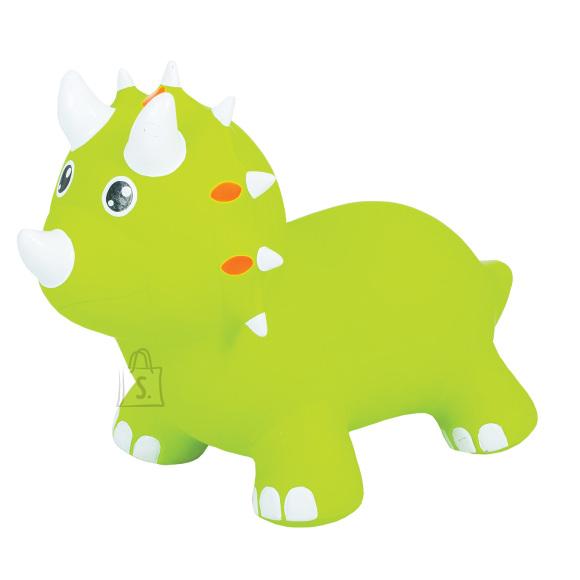 Gerardo's Toys Jumpy hüppeloom Triceratops roheline