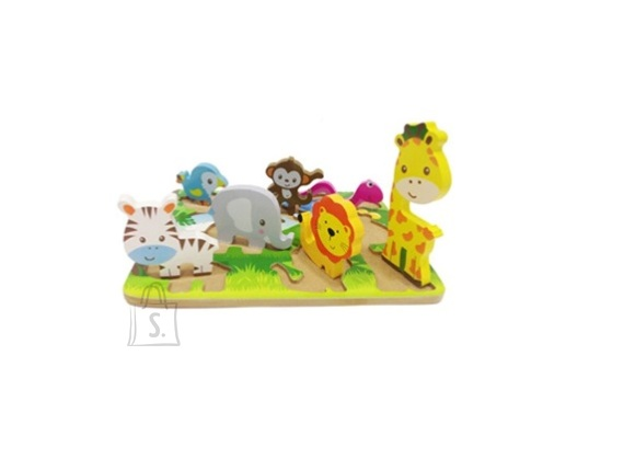 Gerardo's Toys Puidust pusle Safari