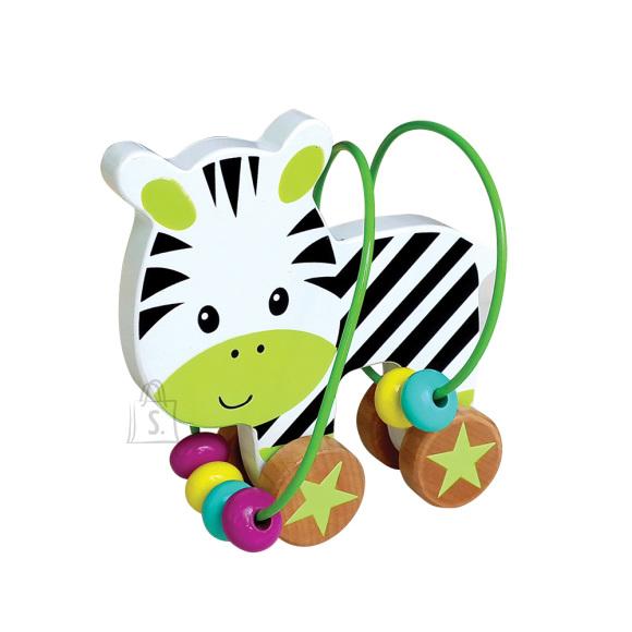 Gerardo's Toys Mini motoorikakeskus Sebra