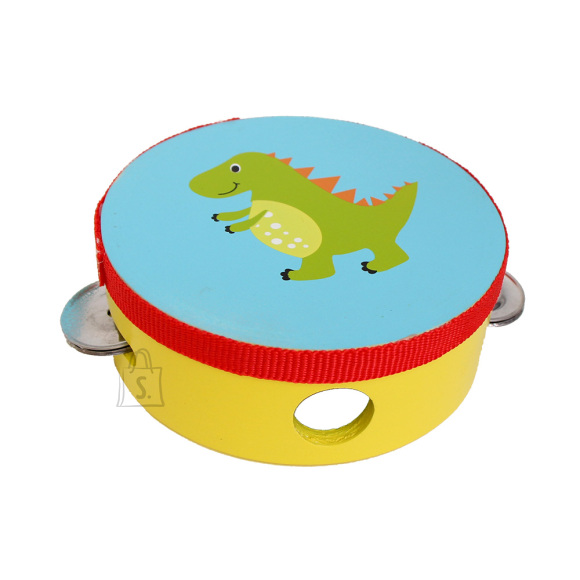 Gerardo's Toys Tamburiin sinine Dino