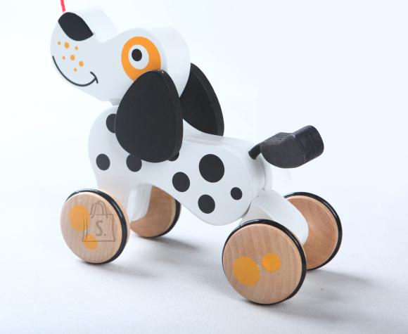 Gerardo's Toys Puidust Koer ratastel