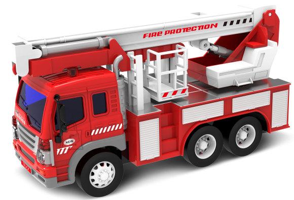 Tuletõrjeauto heli ja valgusega
