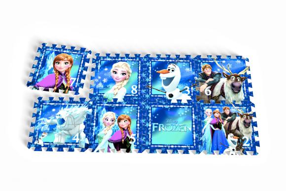 Puslematt Frozen 8tk