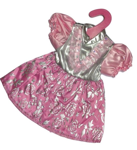 Nuku kleit hõbe/roosa