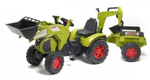 Falk Traktor +laadur+kopp+käru, pedaalidega