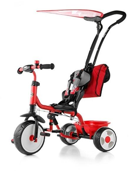 Milly Mally 3-rattaline lapsekäru Deluxe