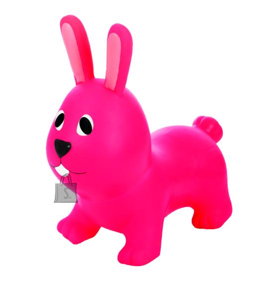 Gerardo's Toys Jumpy hüppeloom Jänes, tumeroosa