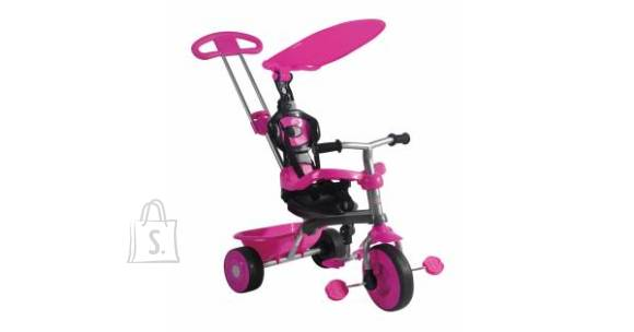 3-rattaline ratas Trike Galaxy 3 in 1, roosa