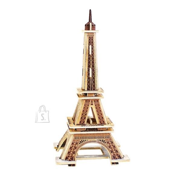 Gerardo's Toys puidust 3D pusle Eiffeli torn 22tk