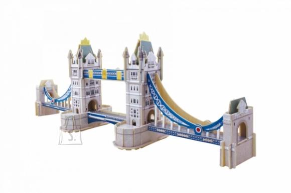 Gerardo's Toys puidust 3D pusle Tower sild 59tk