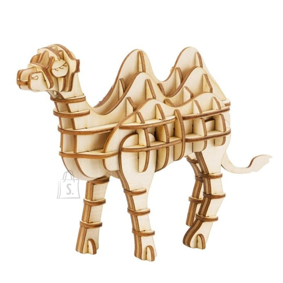 Gerardo's Toys puidust 3D pusle Kaamel 62tk