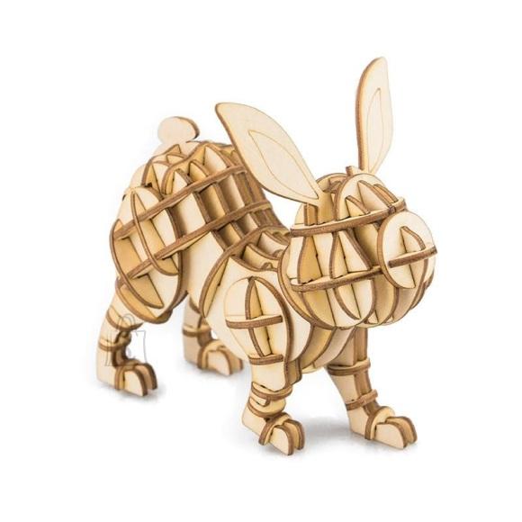 Gerardo's Toys puidust 3D pusle Jänes 60tk