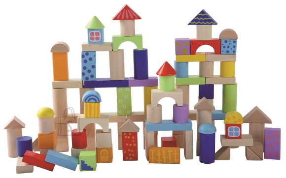 Gerardo's Toys Puidust ehitusklotsid
