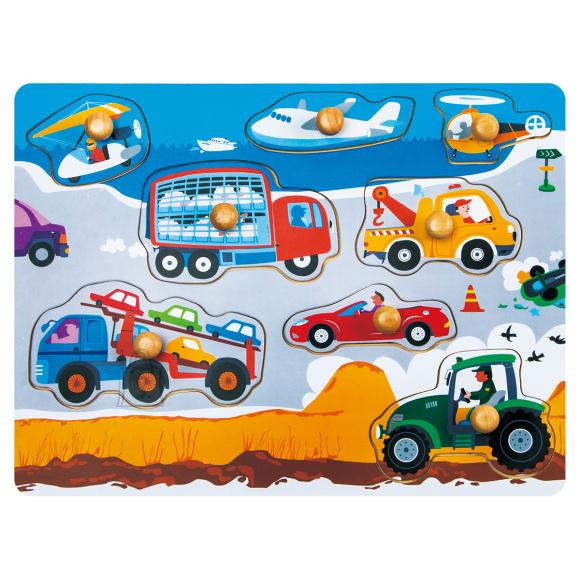 Gerardo's Toys Puidust pusle Autod 8tk