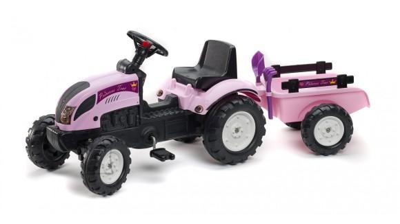 Falk Traktor Princess käruga