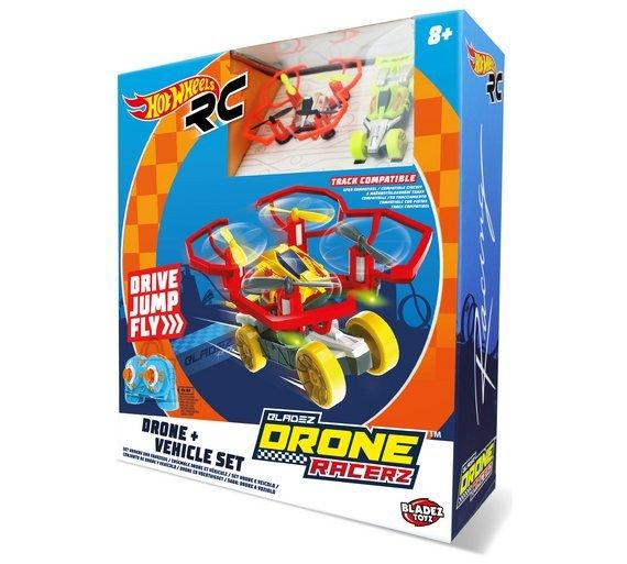 Hot Wheels droon/auto Bladez Racer 3-1