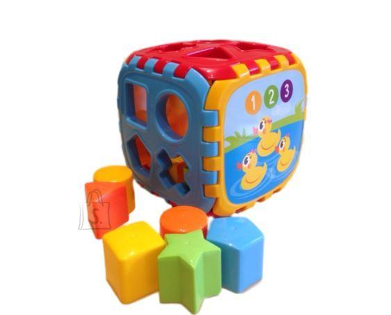 Playskape sorteerimiskuubik Pusle