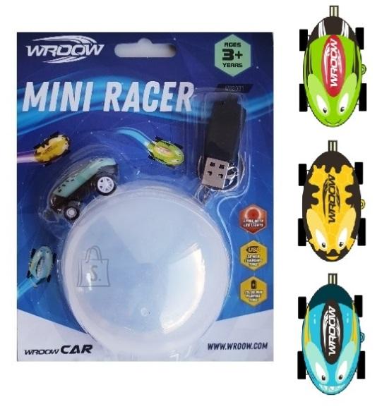 Pallirajaga ralliauto WROOW Mini Racers