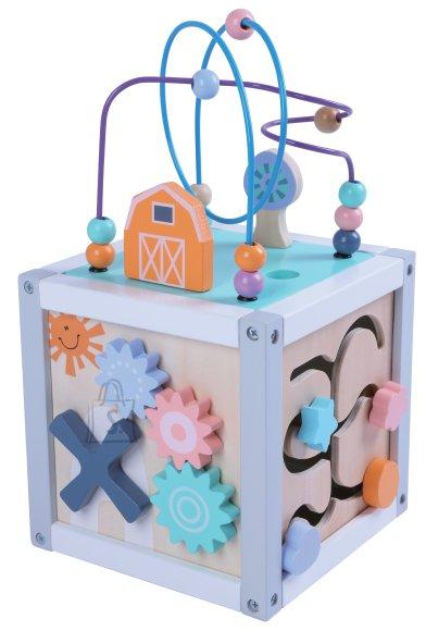 Gerardo's Toys Puidust motoorikakeskus 20cm